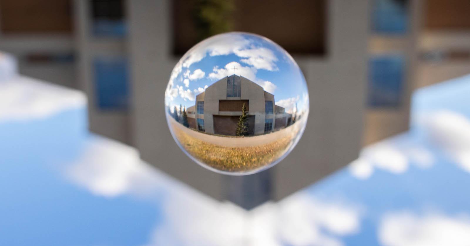 Lens ball photo