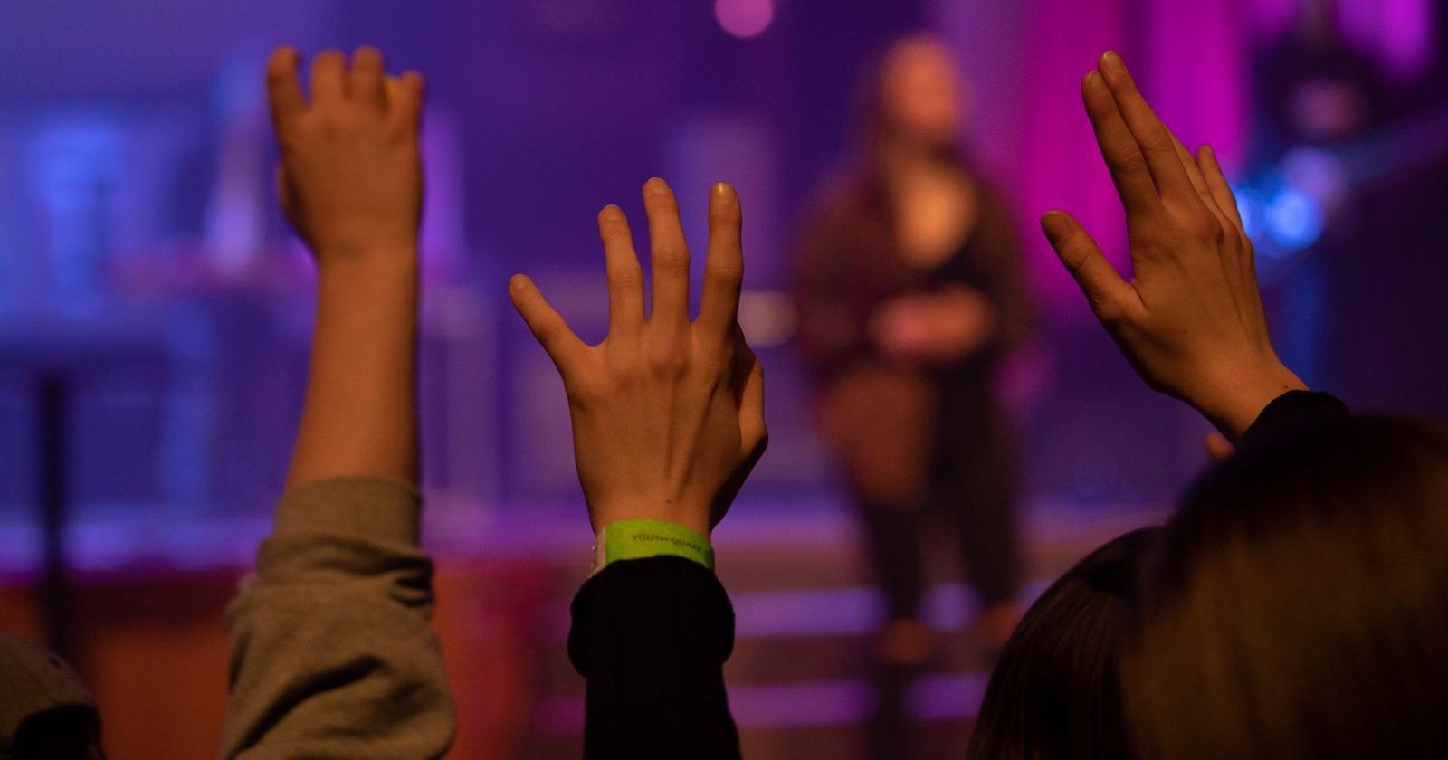 Worship at Youth Quake