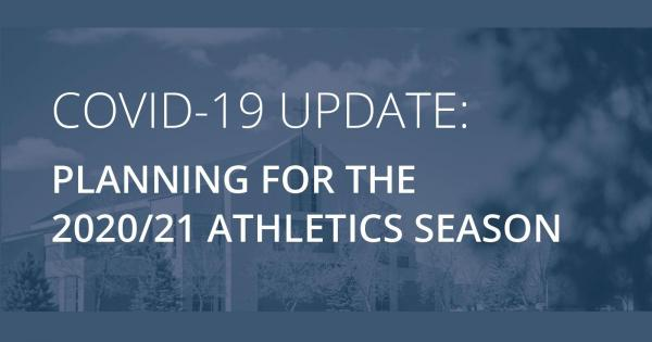Planning for the 2020-21 athletics season