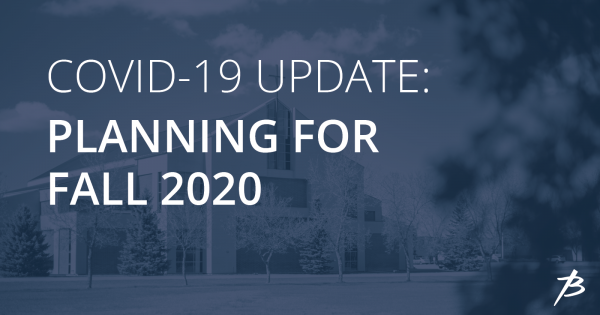 May 20, 2020 Update