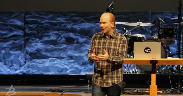Dan Goddard, pastor from Dan Godard from Victory Church in Moose Jaw